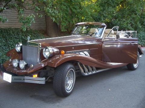 1981 Clenet Series II Cabriolet in Light Brown