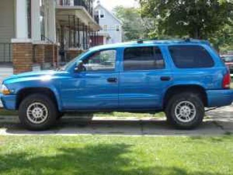 1999 Dodge Durango SLT in Intense Blue Pearlcoat