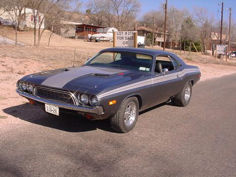 1973 Dodge Challenger R/T in Gray/Silver