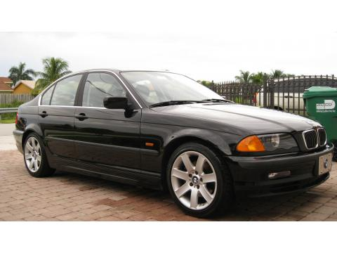 2000 BMW 3 Series 328i Sedan in Jet Black
