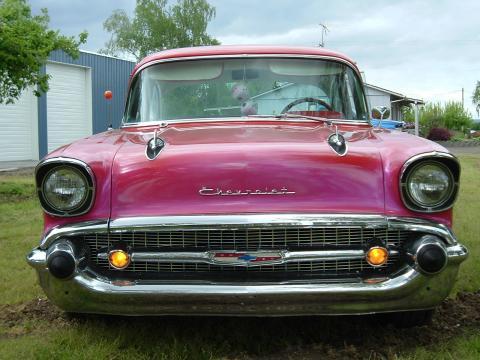 1957 Chevrolet 210 2 Door in Red