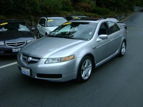 2005 Acura TL 3.2 in Satin Silver Metallic