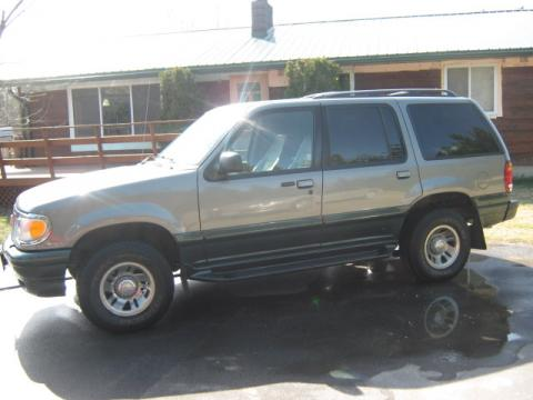 1999 Mercury Mountaineer 4WD in Spruce Green Metallic