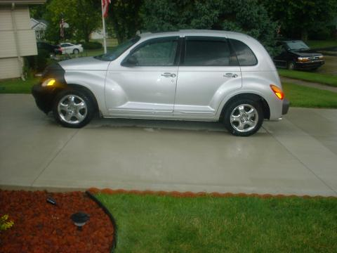 2001 Chrysler PT Cruiser Limited in Bright Silver Metallic