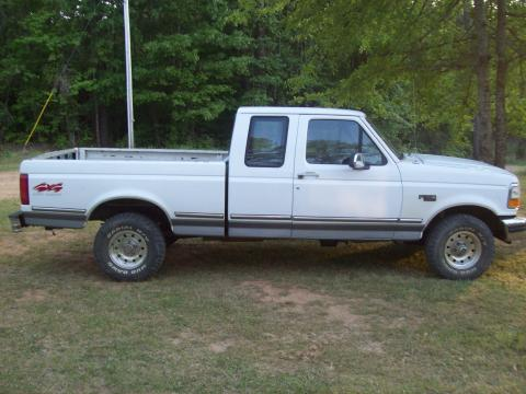 1994 Ford F150 XLT Extended Cab 4x4 in Oxford White