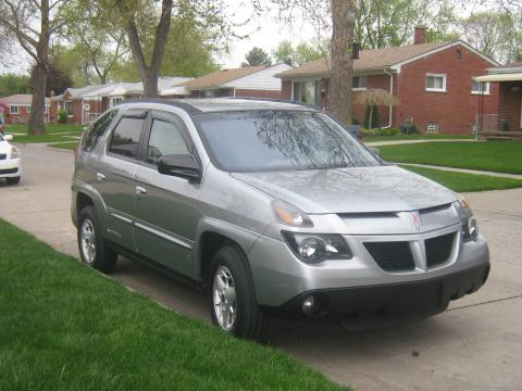 2003 Pontiac Aztek  in Liquid Gray Metallic