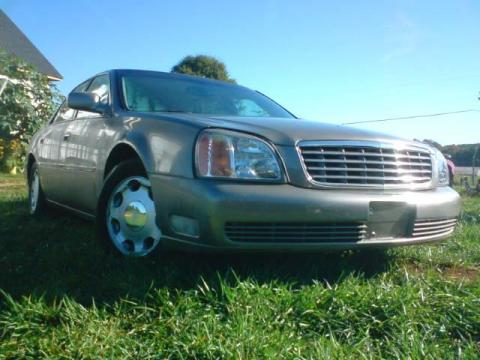 2000 Cadillac DeVille DHS in Gold Firemist