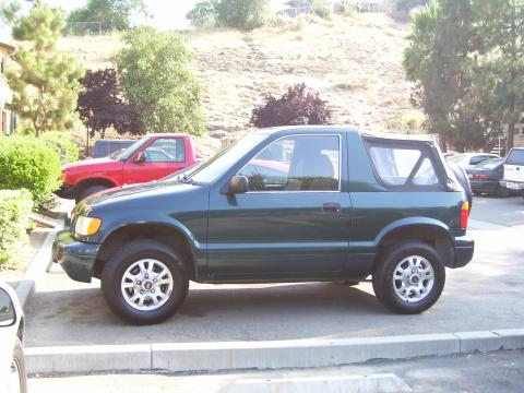 2001 Kia Sportage Convertible in Evergreen