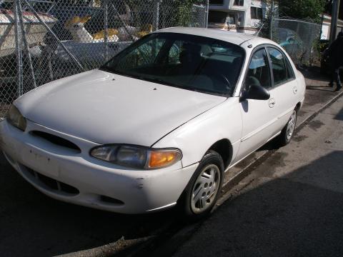 1997 Ford Escort Sedan in White