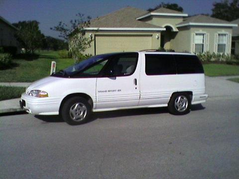1996 Pontiac Trans Sport SE in White