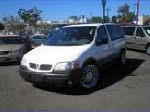 2003 Pontiac Montana  in Summit White