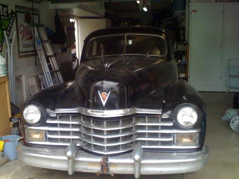 1947 Cadillac Series 62 Sedan in Black