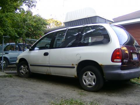1997 Dodge Caravan  in White