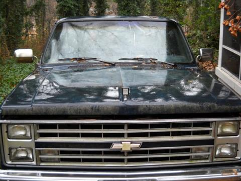 1985 Chevrolet C/K K10 4x4 in Dark Blue