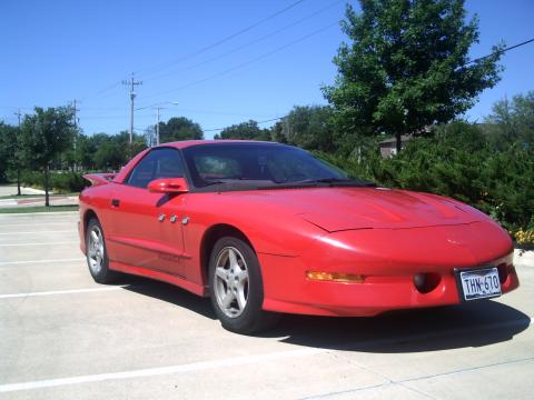 1993 Pontiac Firebird Trans Am Coupe in Bright Red