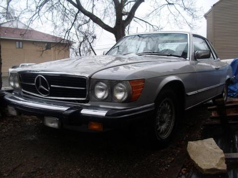 1978 Mercedes-Benz SL Class 450 SLC Coupe in Astro Silver Metallic