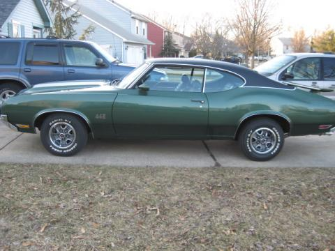 1970 Oldsmobile 442 Coupe in Sherwood Green