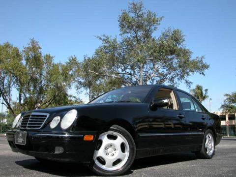 2001 Mercedes-Benz E 430 Sedan in Black