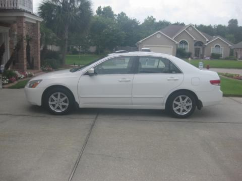 2003 Honda Accord EX V6 Sedan in Taffeta White