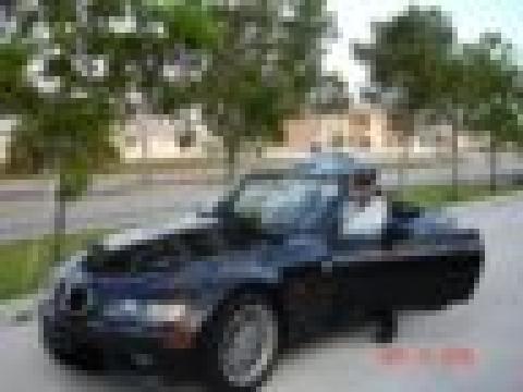 1997 BMW Z3 1.9 Roadster in Jet Black