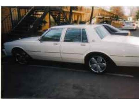 1989 Chevrolet Caprice Sedan in White