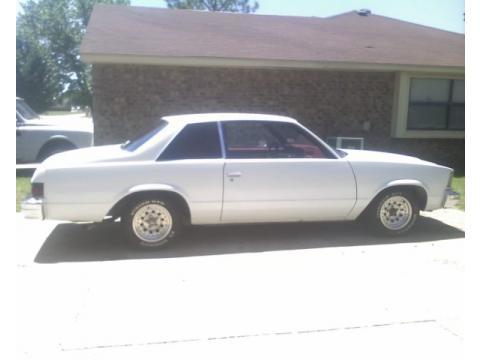 1979 Chevrolet Malibu Coupe in White