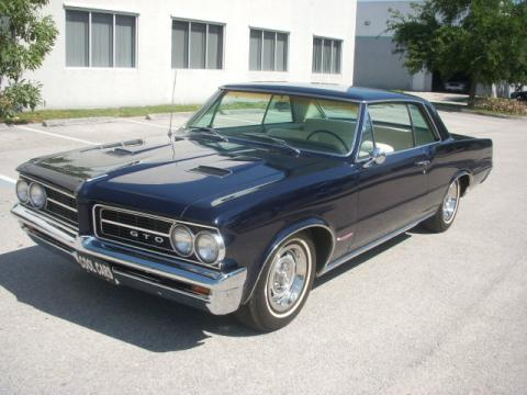 1964 Pontiac GTO  in Dark Blue
