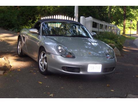 2001 Porsche Boxster  in Arctic Silver Metallic