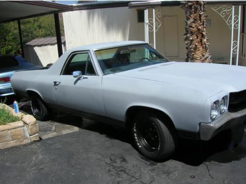 1970 Chevrolet El Camino  in Primer Gray