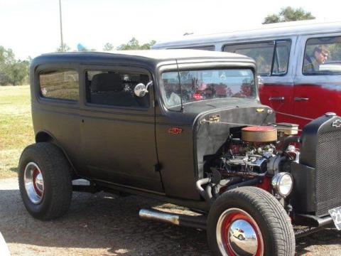 1932 Chevrolet Coupe Rat Rod in Flat Black