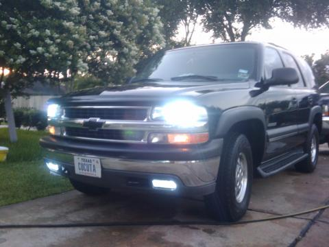 2003 Chevrolet Tahoe LS 4x4 in Black