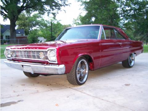 1966 Plymouth Belvedere 2 Door Coupe in Maroon (2009 Color)