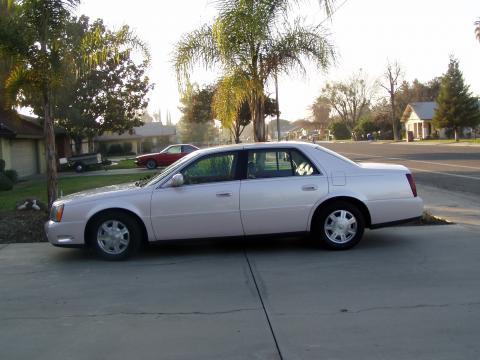 2003 Cadillac DeVille Sedan in Pink