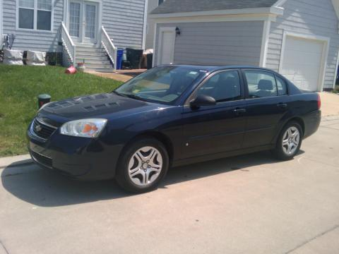 2006 Chevrolet Malibu LS V6 Sedan in Dark Blue Metallic