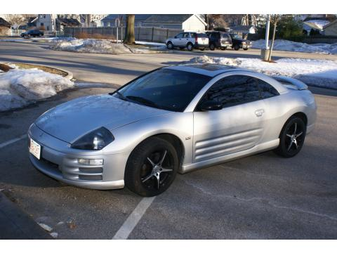 2002 Mitsubishi Eclipse GT Coupe in Sterling Silver Metallic