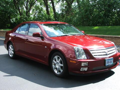 2007 Cadillac STS 4 V6 AWD in Infrared