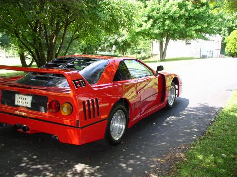 1986 Pontiac Fiero F40 Ferrari Kit Car in Red