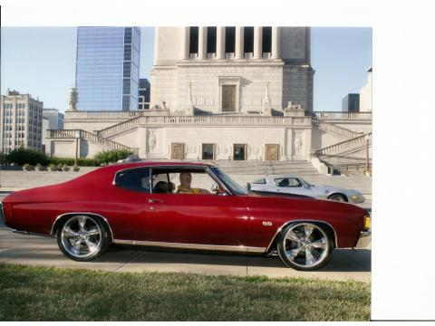 1972 Chevrolet Chevelle SS in Salsa Red Pearl