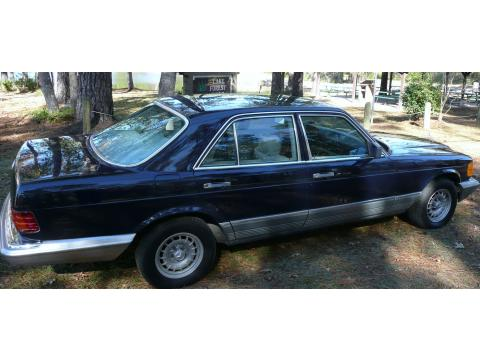 1985 Mercedes-Benz S Class 380 SE in Navy Blue