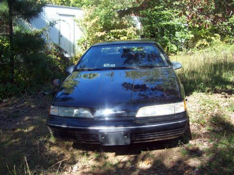 1989 Ford Thunderbird LX in Black