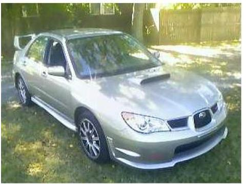 2007 Subaru Impreza WRX STi in Crystal Gray Metallic