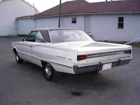 1967 Dodge Coronet 440 in White
