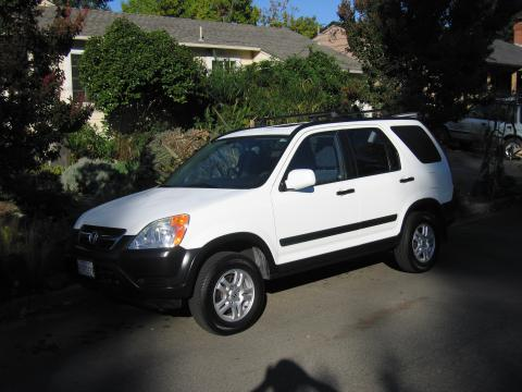 2003 Honda CR-V EX in Taffeta White