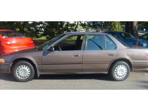 1993 Honda Accord LX Sedan in Rosewood Brown Metallic