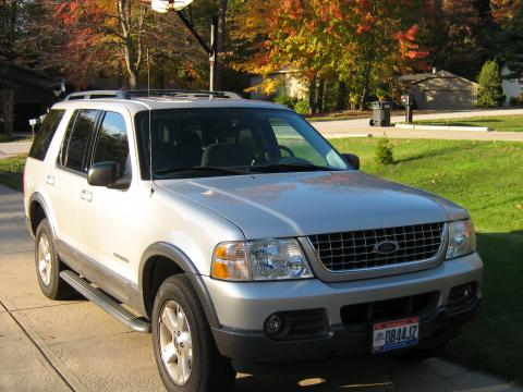 2004 Ford Explorer XLT in Silver Birch Metallic