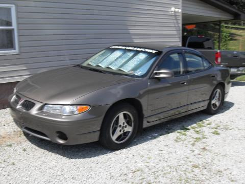 2001 Pontiac Grand Prix GT Sedan in Dark Bronzemist Metallic