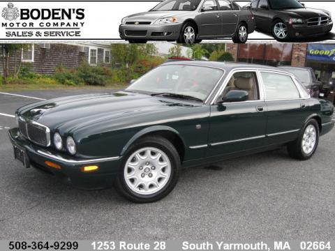 1998 Jaguar XJ XJ8 L in British Racing Green