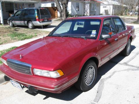1993 Buick Century Special Sedan in Red