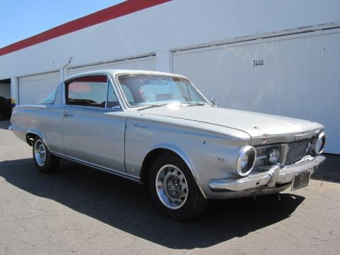 1965 Plymouth Barracuda Coupe in Dark Metallic Blue
