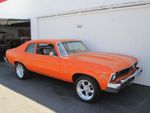 1973 Chevrolet Nova SS in Bright Orange